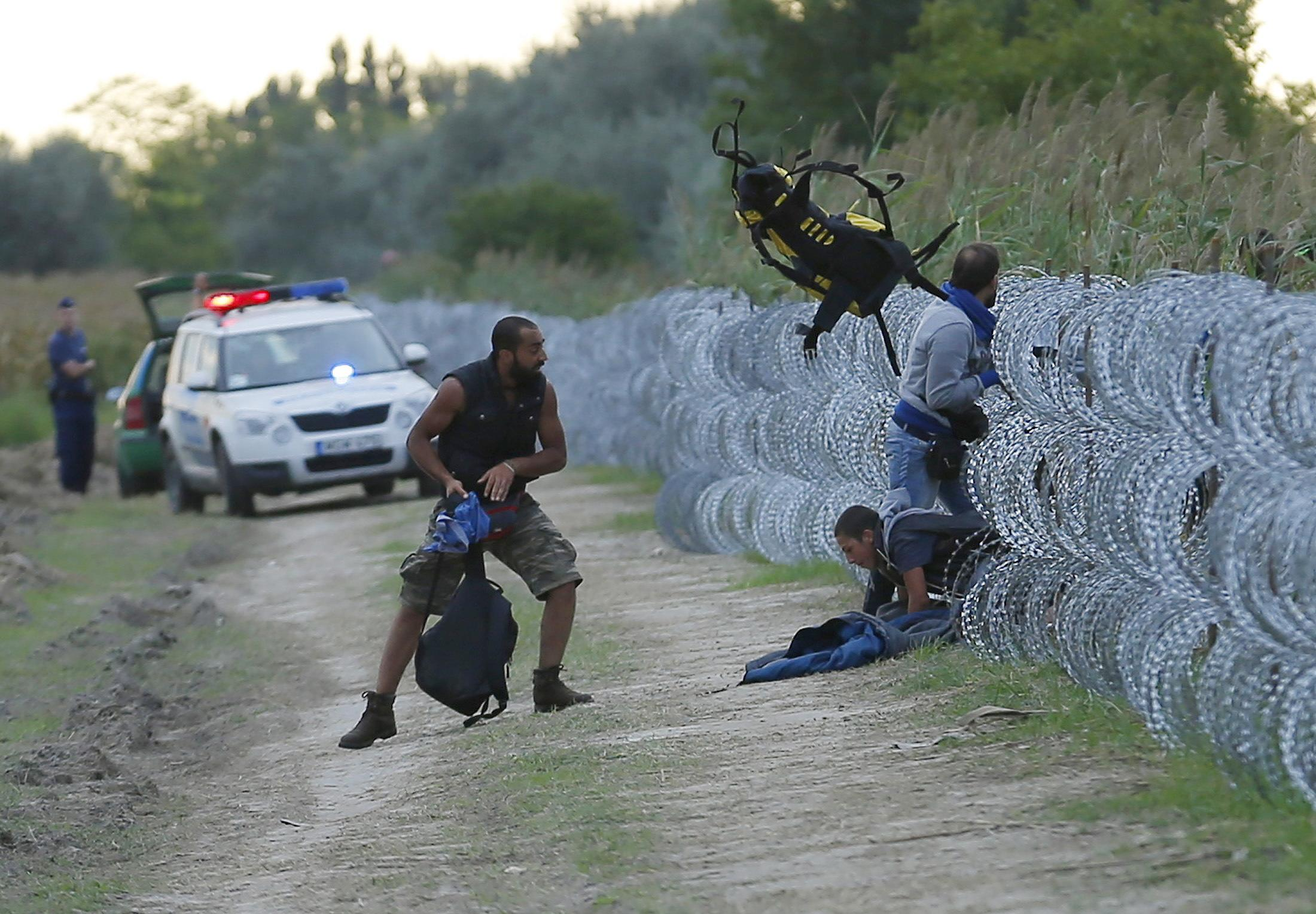 This photo sums up the slow-motion tragedy unfolding in Europe