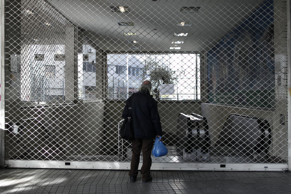 Greek gov't forcing end to Athens subway strike