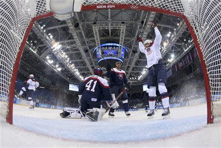 ice hockey game at the 2014 Winter Olympic Games | View photo - Yahoo
