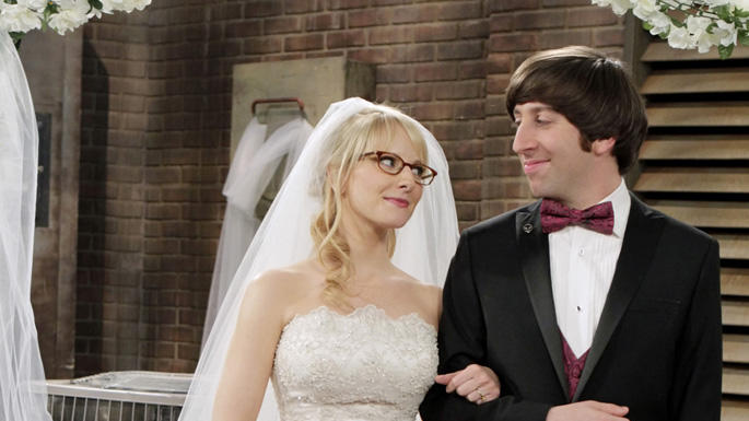 TV Weddings - The Big Bang Theory