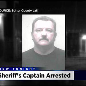 Sutter County Sheriff's Captain Arrested On Child Abuse Charges