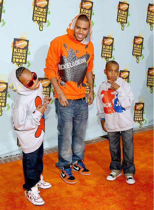 Brown Chris Kids Choice Aw