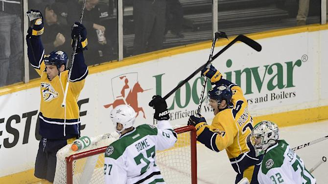 Legwand leads Predators to 3-1 win over Stars