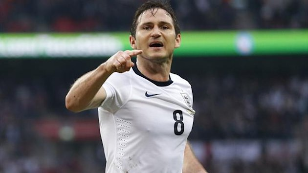 England's Frank Lampard celebrates (Reuters)