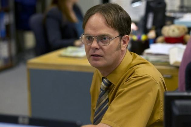 Rainn Wilson as Dwight Schrute on 'The Office' -- NBC