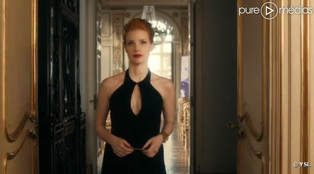 Yves Saint Laurent assure le lancement de Manifesto avec Jessica Chastain