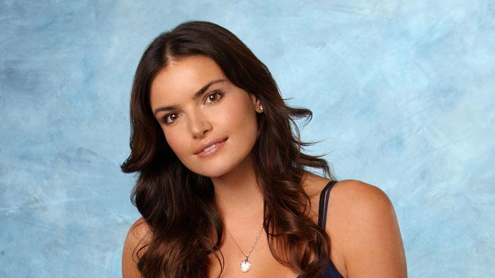 "Courtney, 28, a model from Santa Monica, CA, competes on Season 16 of ""The Bachelor."""