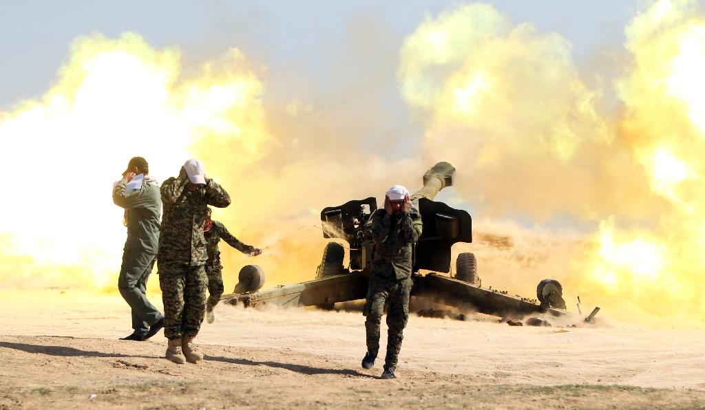 Major offensive under way to retake Iraq's Tikrit: army