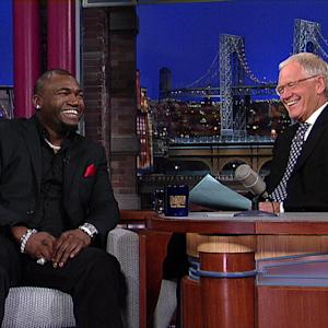 David Letterman - Boston Red Sox World Series MVP David Ortiz