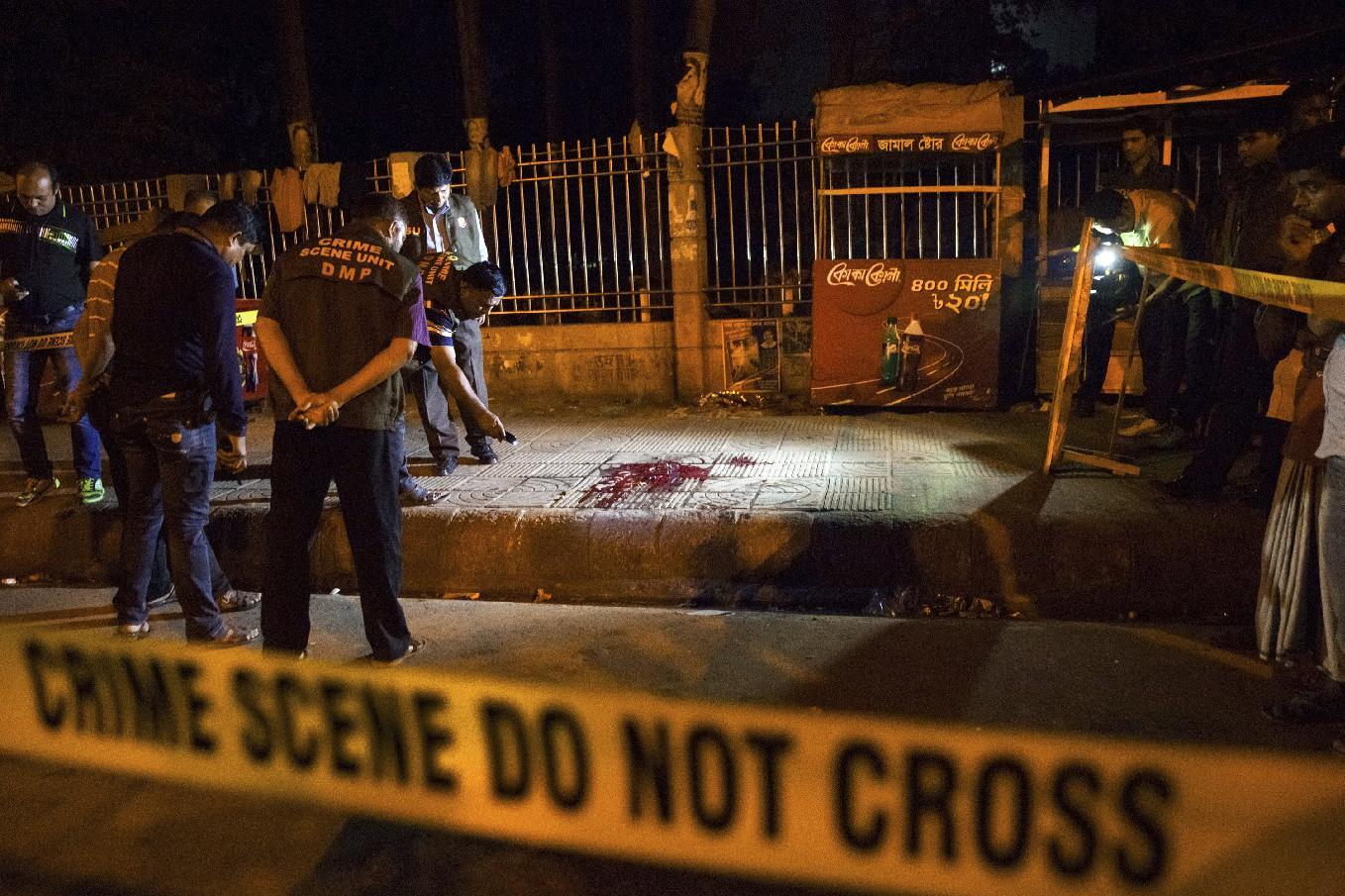 Avijit Roy, Bangladeshi-American blogger, was hacked to death in Bangladish