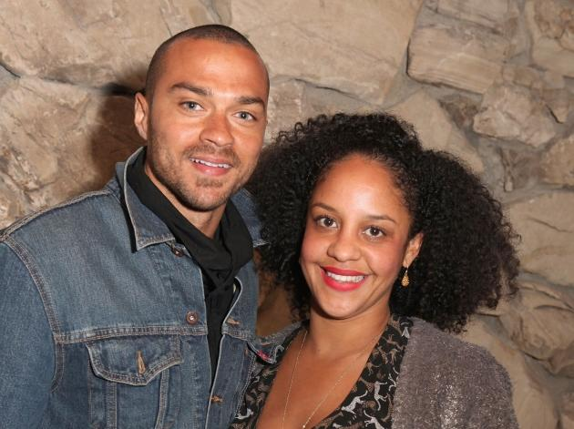 Jesse Williams and Aryn Drake-Lee attend the Art Los Angeles Contemporary 2012 VIP Reception at the home of Eugenio Lopez, celebrating the Kick-Off of ALAC 2012 in Los Angeles on January 18, 2012  -- Getty Images