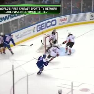 Nikolay Kulemin Hit on Sami Vatanen (07:28/1st)