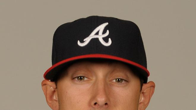 Jordan Schafer Baseball Headshot Photo