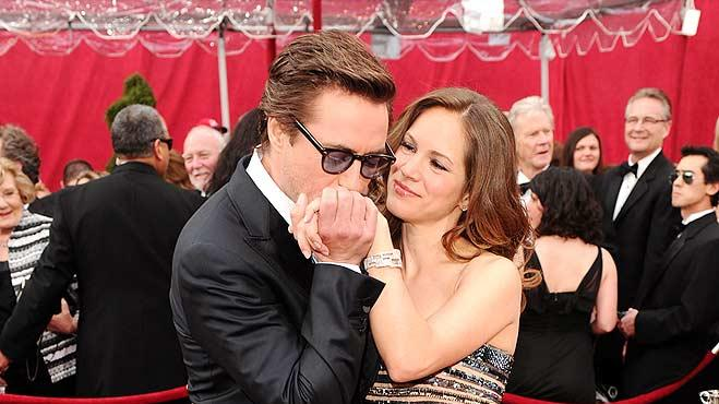 Downey Jr Robert Susan Oscars
