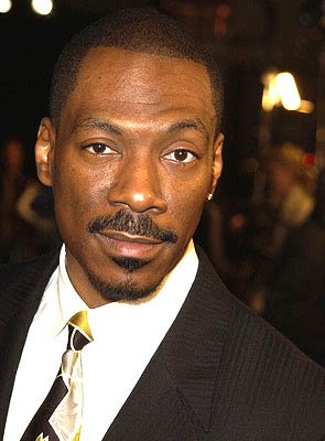 Eddie Murphy at the Hollywood premiere of Warner Brothers' Showtime