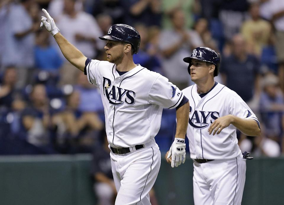 Miller homers twice, Mariners beat Rays