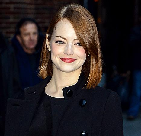 Emma Stone Suffers Makeup Malfunction: See Her Over-Powdered Face