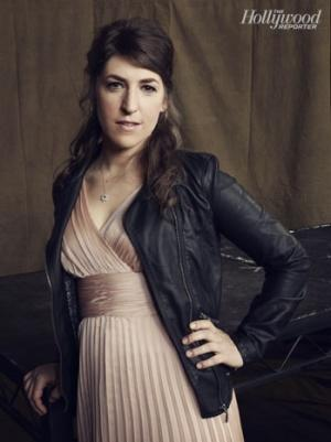 'Big Bang Theory' Star Mayim Bialik Blogs Her Emmy Dress Fitting