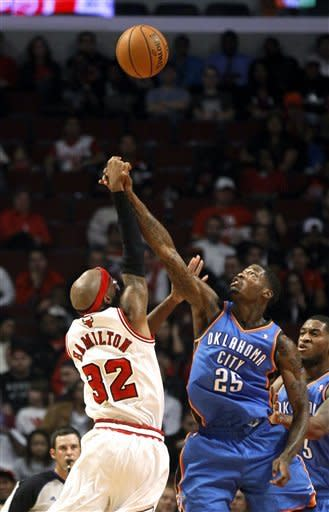 Boozer scores 24 to lead Bulls past Thunder 94-89