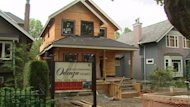 The house under construction in the Dunbar neighbourhood has one innovation that has the neighbours concerned - a small wind turbine.