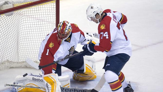 Panthers' Luongo beats Canucks in return to Vancouver