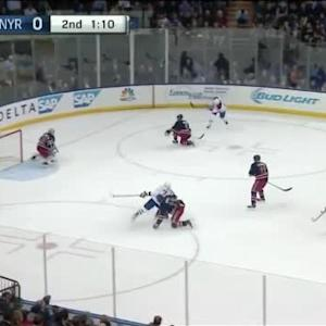 Henrik Lundqvist Save on Jiri Sekac (18:51/2nd)