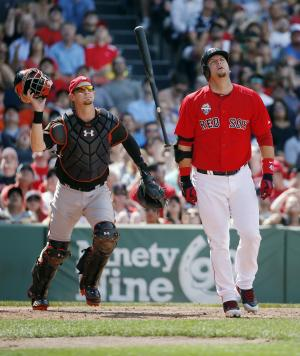 Red Sox cut Pierzynski, call up catching prospect