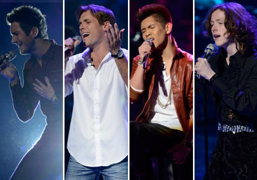 American Idol Vegas Round (Part 2) Recap: Men of a Certain Range [Updated]