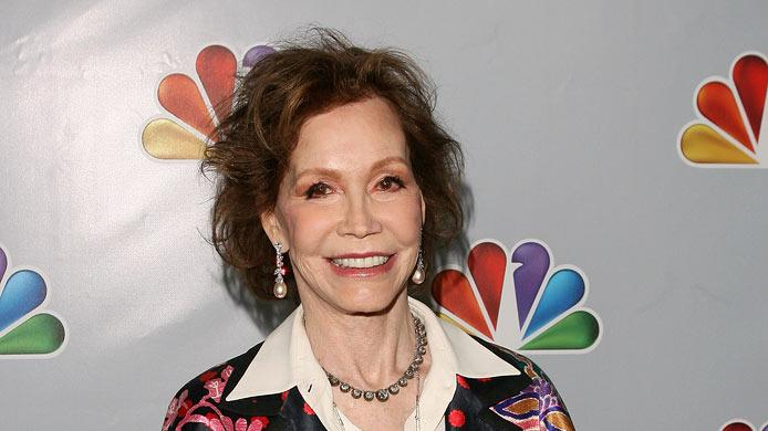 "Mary Tyler Moore arrives at NBC's taping of ""Betty White's 90th Birthday: A Tribute to America's Golden Girl"" at the Millennium Biltmore Hotel on January 8, 2012 in Los Angeles, California."