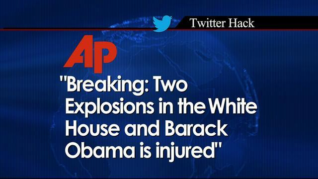 Fake AP tweet: Explosion at White House