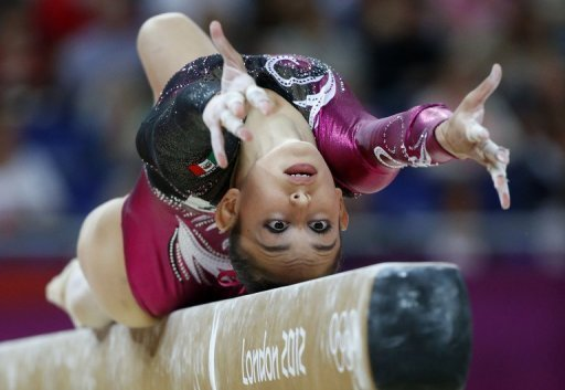 Gymnasts begin their qualifying rounds