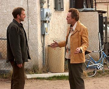 Josh Lucas and Christopher Walken in Warner Independent Pictures' Around the Bend