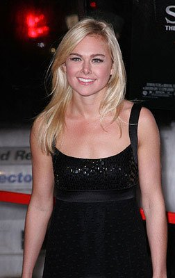 Laura Bell Bundy at the New York City premiere of DreamWorks Pictures' Sweeney Todd: The Demon Barber of Fleet Street