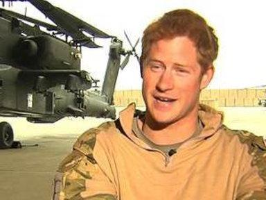 For Prince Harry, Army Life 'Easier' and 'Quieter'