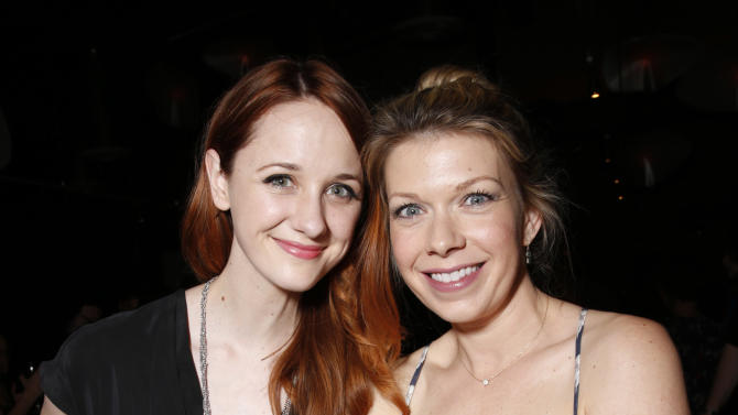 IMAGE DISTRIBUTED FOR FOX - Laura Spencer, left, and Mary Elizabeth Ellis attend the WIGS One Year Anniversary Party on Thursday, May 2, 2013 in Culver City, CA. (Photo by Todd Williamson/Invision for FOX/AP Images)