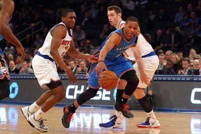 Russell Westbrook gives the Knicks the ultimate backhanded compliment