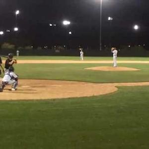 Anthony Quattrocchi pitching VS Williams High