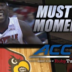Louisville's Montrezl Harrell Thunderous Alley-Oop | ACC Must See Moment