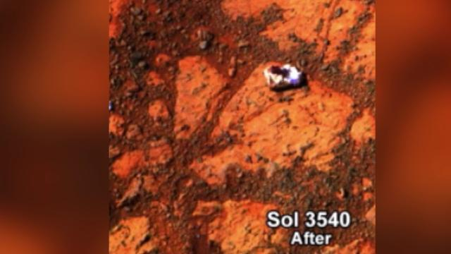 Mysterious rock found by Mars rover: 'We were absolutely ...
