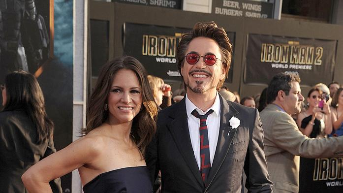 Iron Man 2 LA Premiere 2010 Susan Downey Robert Downey Jr.