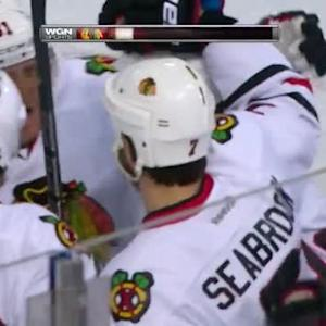 Brent Seabrook Goal on Ben Scrivens (15:56/1st)