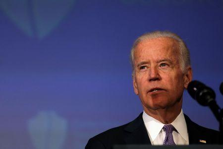U.S. Vice President Joe Biden delivers remarks at a conference of the Center for New American Security think tank in Washington