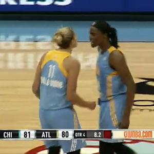 Elena Delle Donne Hits the Game Winner!