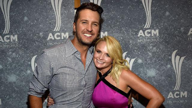 Miranda Lambert Lip Syncs 'Bad Blood' and Is All Smiles With Luke Bryan at ACM Honors