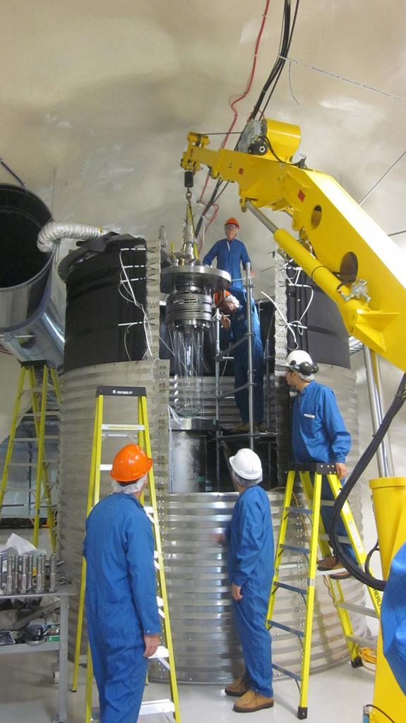 New Experiment Seeks Mysterious Dark Matter Underground