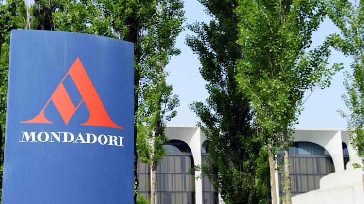 File photo showing a general view of Arnoldo Mondadori's headquarters in Segrate, outside Milan