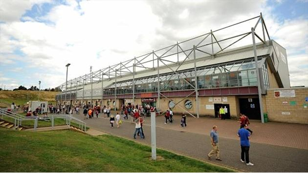 League Two - Sixfields plans passed