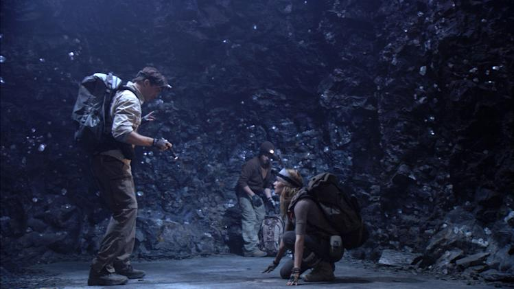 Josh Hutcherson Anita Briem Brendan Fraser Journey to the Center of the Earth Production Warner Brothers New Line 2008