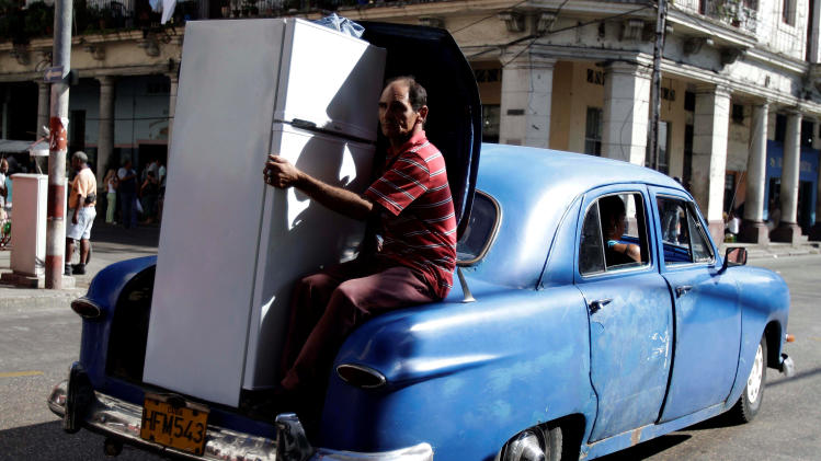 Cuba lifts ban on energy-hogging appliances