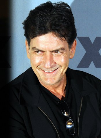 Charlie Sheen at the 2012 FX Ad Sales Upfront.